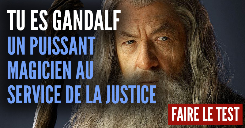 "[Test] Quel personnage du ""Hobbit"" es-tu ? Gandalf-2"