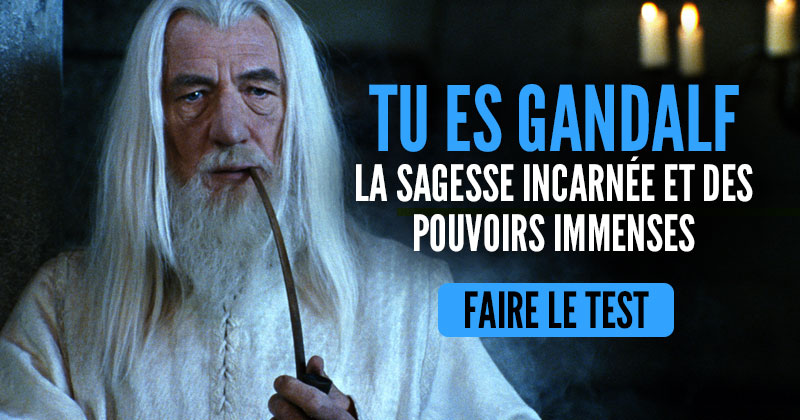 "[Test] Quel personnage du ""Hobbit"" es-tu ? Gandalf-3"