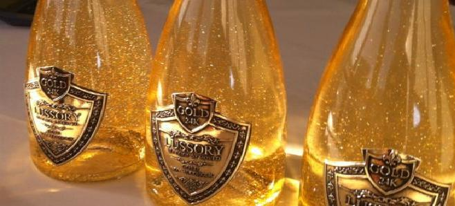 Il existe un vin mousseux o l 39 alcool a t remplac par for Eetbaar goud