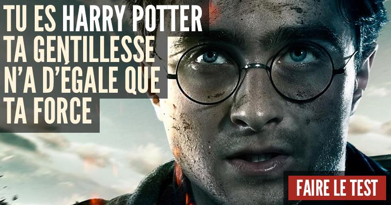 Quel personnage d'Harry Potter êtes-vous ? Harry-2