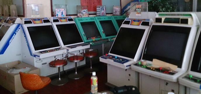 Une japonaise achète une salle d'arcade par erreur  I_arcade
