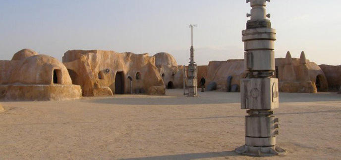 Une campagne veut sauver les d cors tunisiens de star wars for Decoration porte star wars
