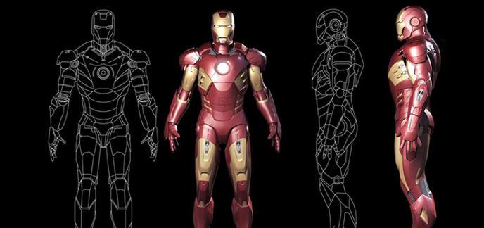 Les premi res armures iron man test es partir de cet t - Dessin armure ...