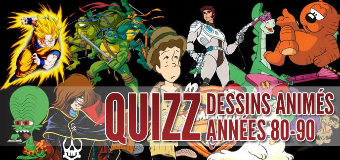Bien-aimé Quizz dessins animés : un petit retour en enfance ? LA48
