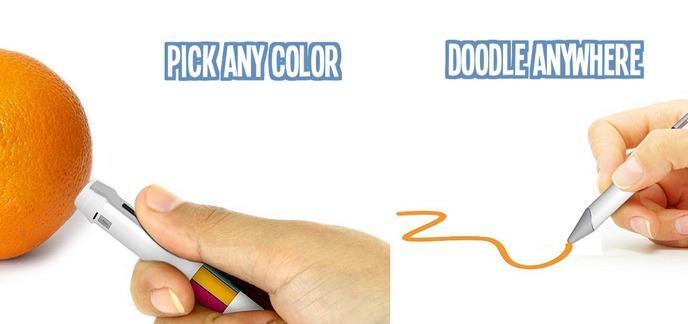 feutre qui change de couleur