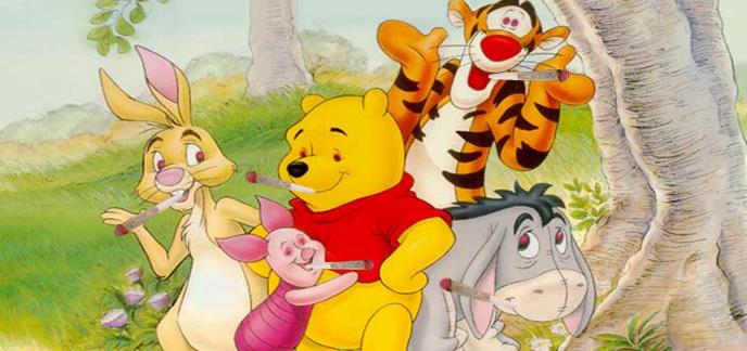 Amis Winnie L Ourson winnie l'ourson et ses amis consomment de la drogue, la preuve en