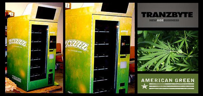 le premier distributeur automatique de cannabis en service. Black Bedroom Furniture Sets. Home Design Ideas