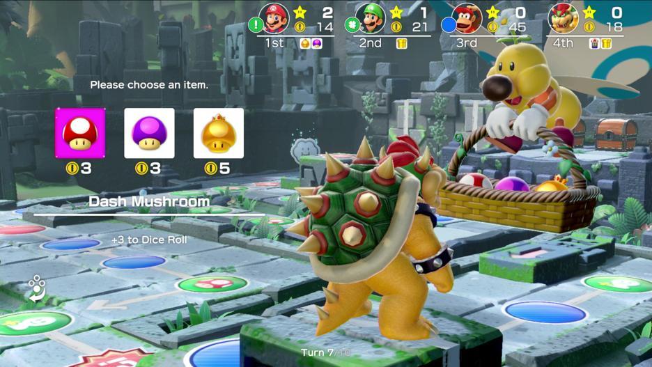 Super Mario Party Un Joueur A Calculé Quel était Le