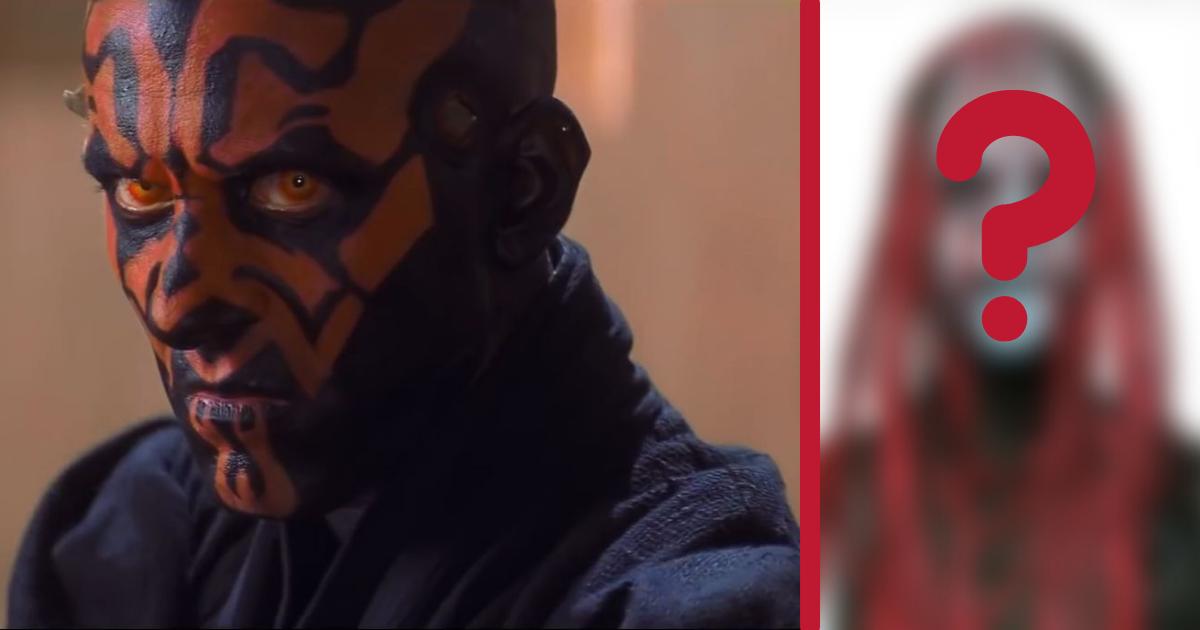 Dark Maul tire son apparence d'une phobie inattendue de son créateur