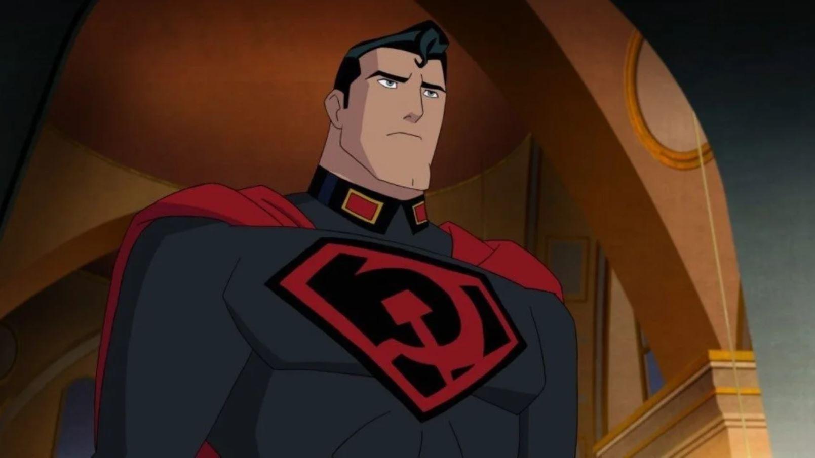 Superman Red Son Viree En Pleine Guerre Froide Avec Un Superman