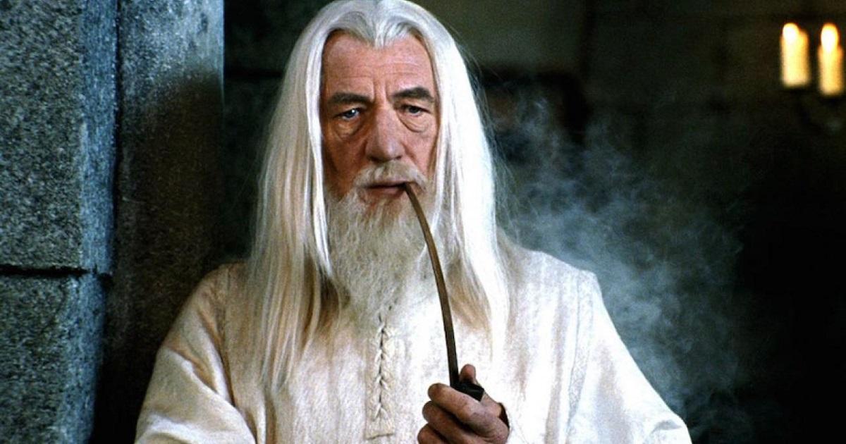 Ian McKellen jouant Gandalf