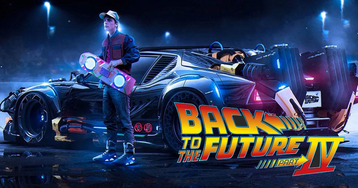 Retour vers le Futur 4 : un nouveau film basé sur le
