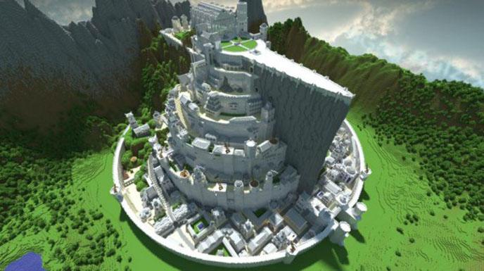 Minecraft top 15 des r f rences de la fiction for Case bellissime minecraft