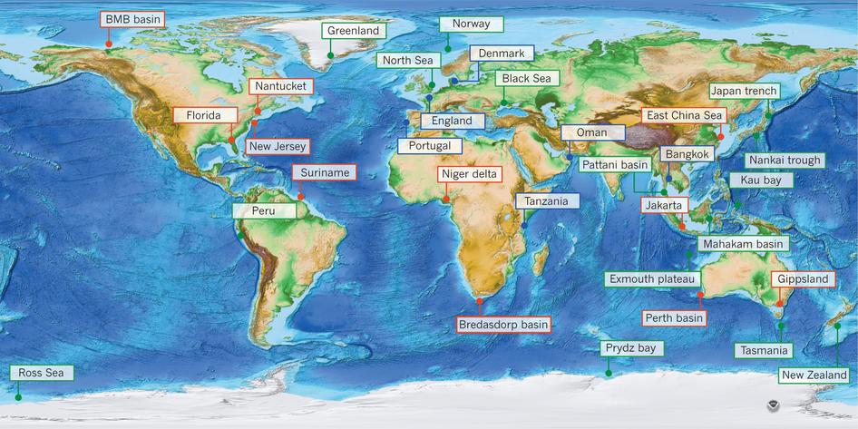 Des réserves d'eau potable sous les fonds océanique