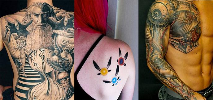 80 tatouages geeks qui font r ver - Les plus beaux tatouages au monde ...