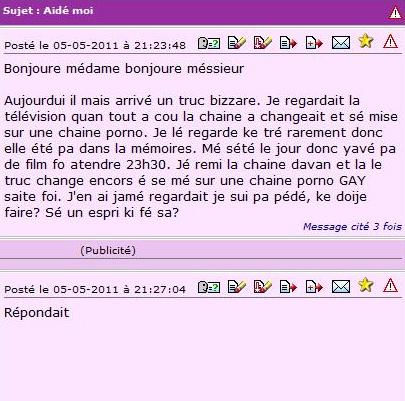 forum prostituée doctissimo