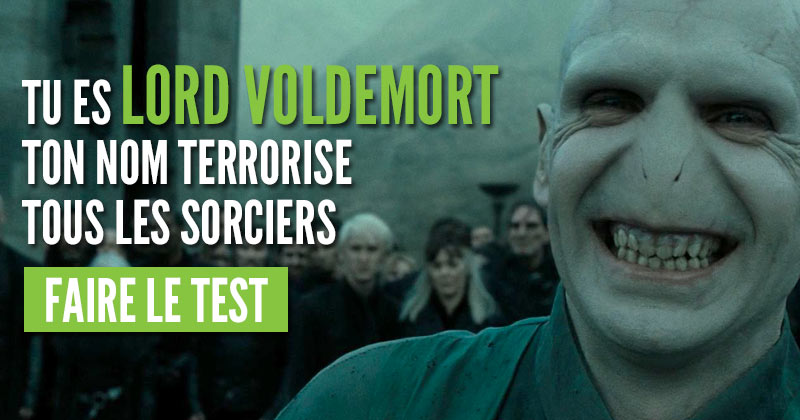 Quel méchant Harry Potter es-tu ?  Voldemort
