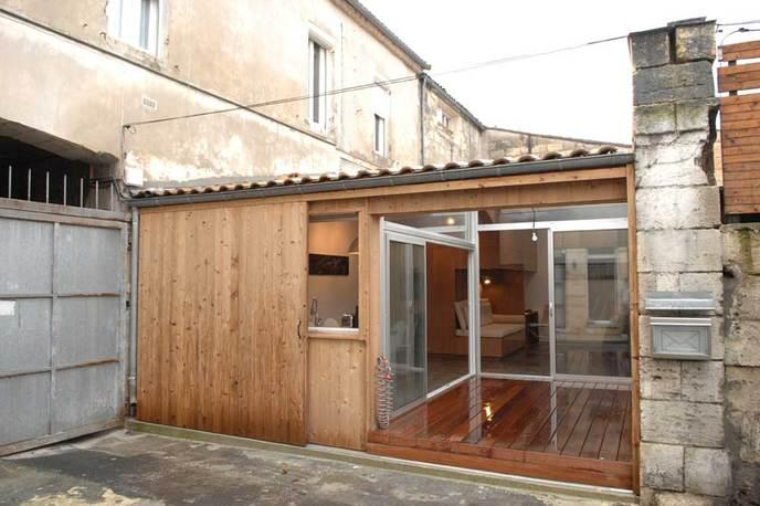 Il transforme un garage en un somptueux appartement - Amenager son garage en studio ...