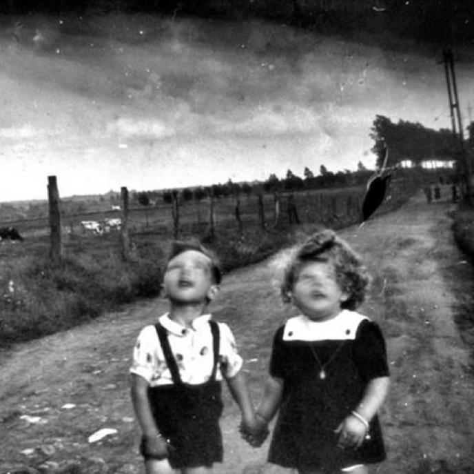 Vieille photo effrayante