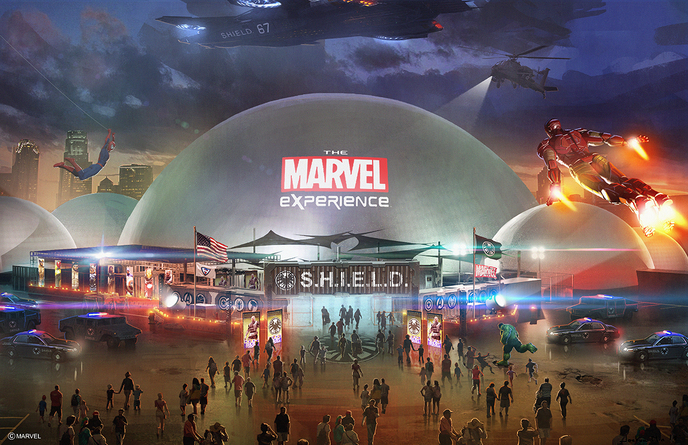 Dome Marvel Experience