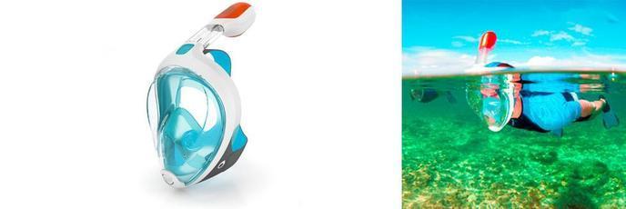 brillance des couleurs grande variété de styles Achat/Vente Tribord Easybreath : un masque de plongée révolutionnaire ...