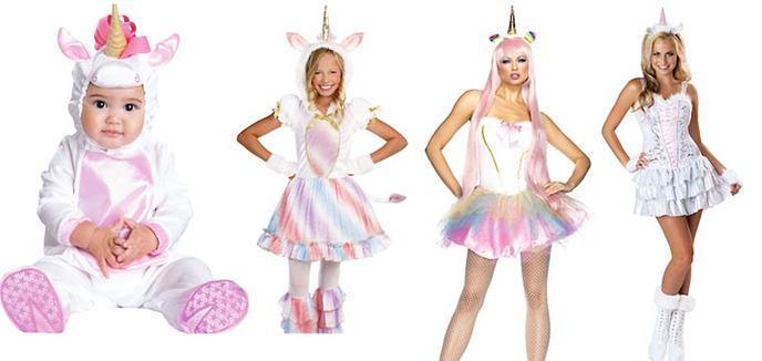 Licorne. Evolution déguisement. Evolution déguisement