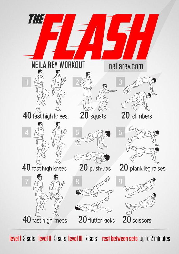 Très Le programme de musculation de vos héros préférés GL04