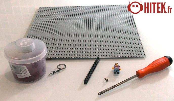 Le tuto de la semaine un porte clefs lego - Comment faire un porte clef ...