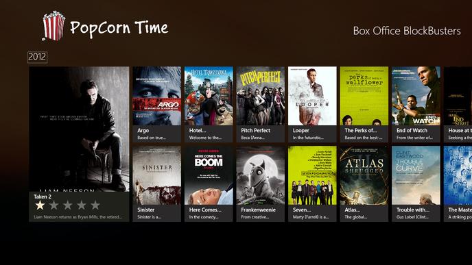 popcorn time le retour du logiciel de streaming. Black Bedroom Furniture Sets. Home Design Ideas