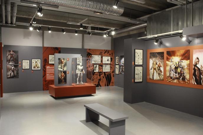 Exposition Marvel au musée Art Ludique à Paris