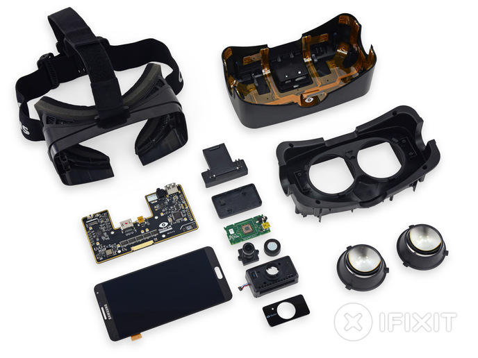 Oculus Rift smartphone ifixit