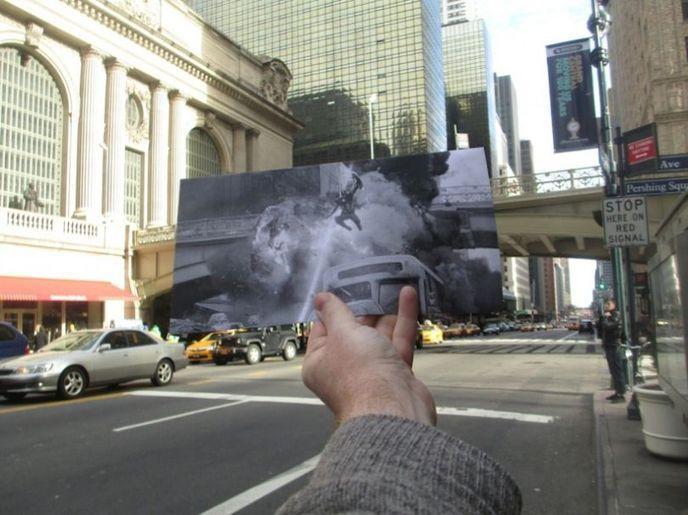 Des Photos De Films Sur Leur Lieu De Tournage