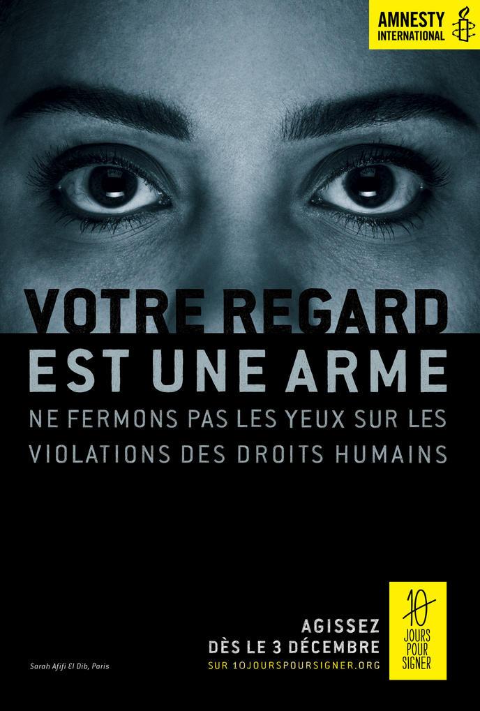 Résultats de recherche d'images pour «yeux bandés  amnesty»