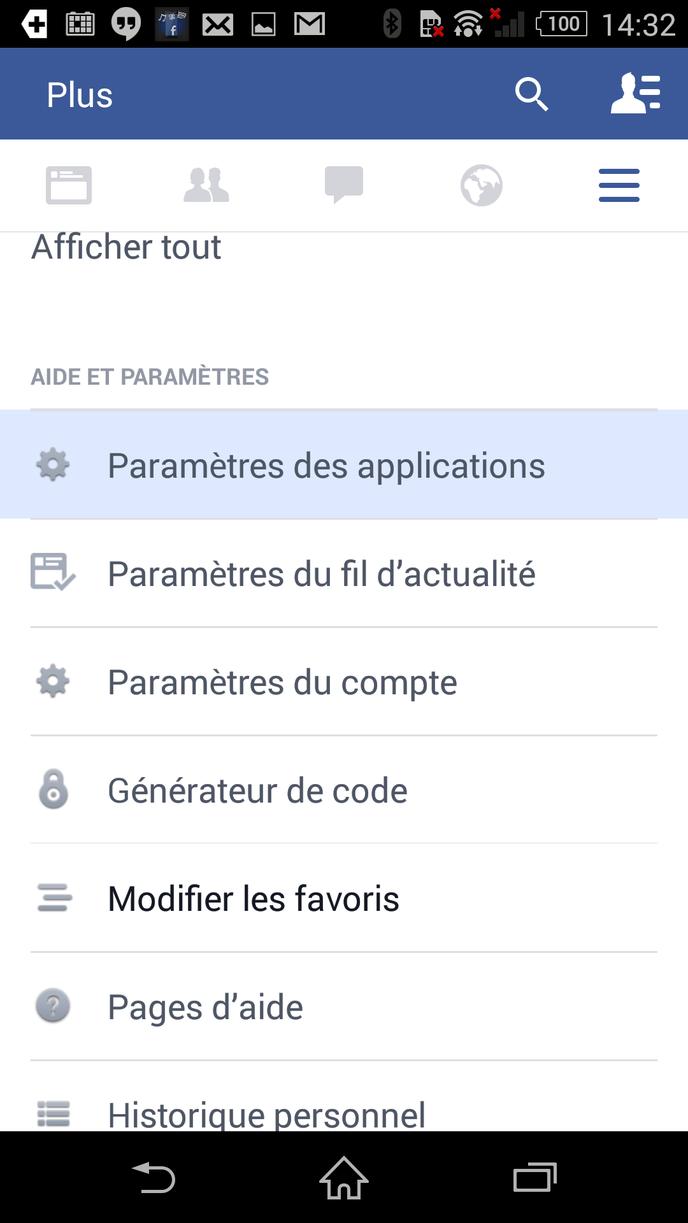 Traque Facebook