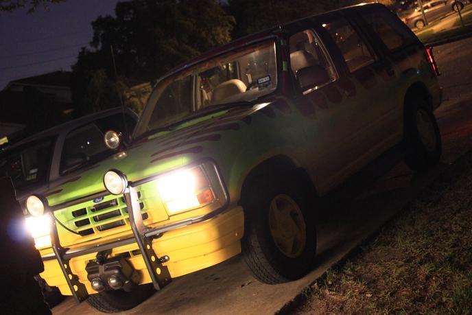 4x4 Jurassic Park