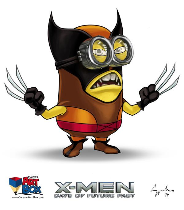 Les X Men En Mode Minions