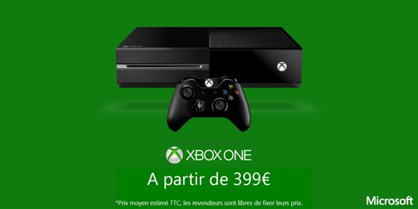 grande baisse de prix pour la xbox one. Black Bedroom Furniture Sets. Home Design Ideas