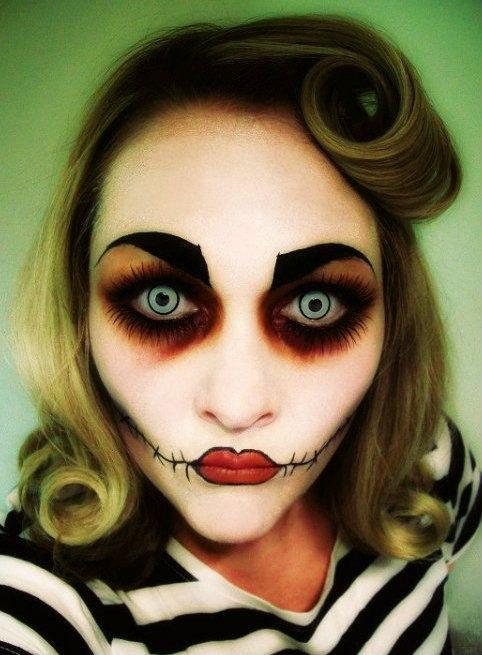 maquillages flippants halloween