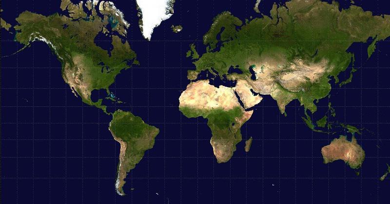 la vrai carte du monde A quoi ressemble le monde avec la véritable superficie des pays ?