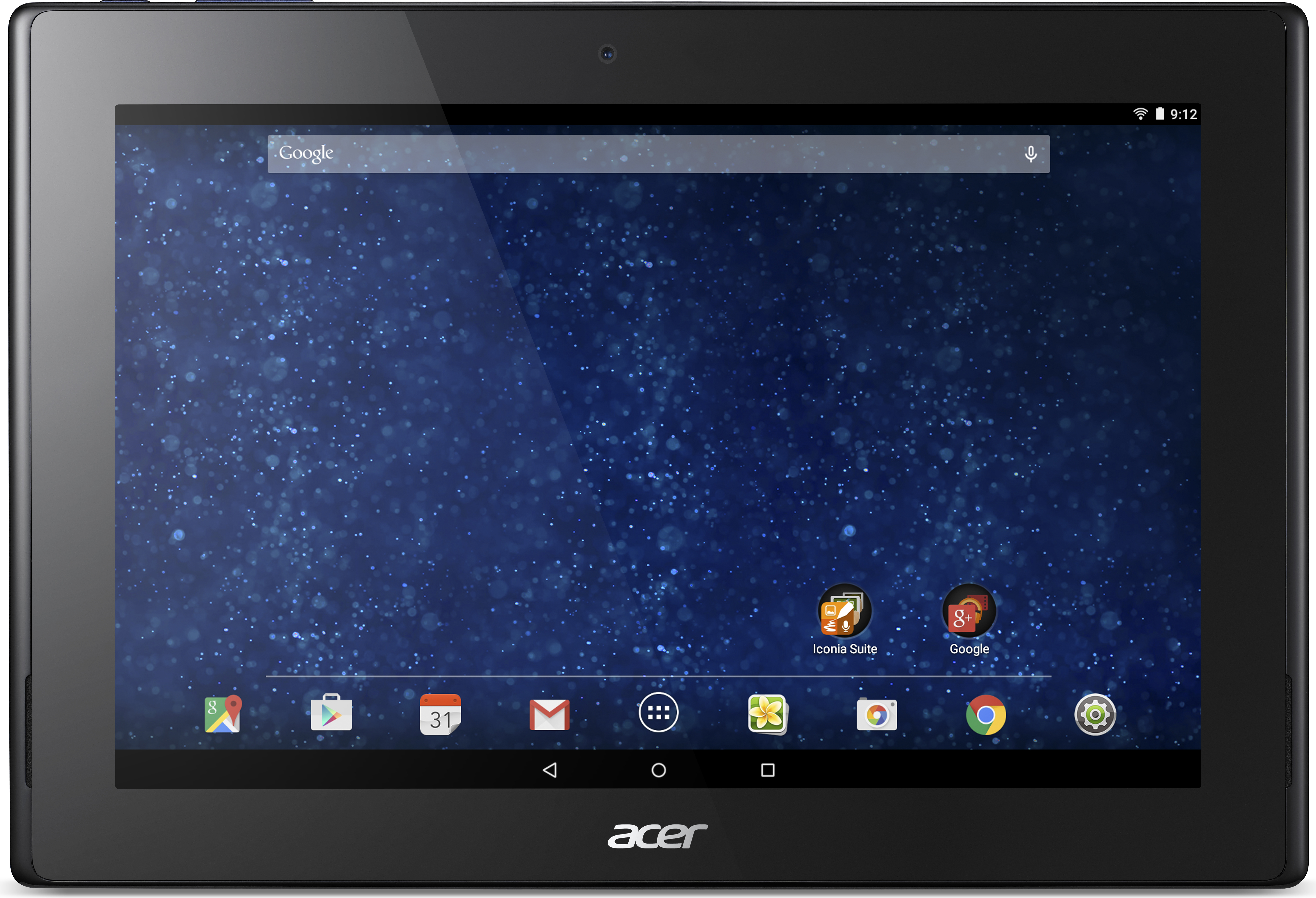 acer iconia tab 10 une tablette google for education. Black Bedroom Furniture Sets. Home Design Ideas