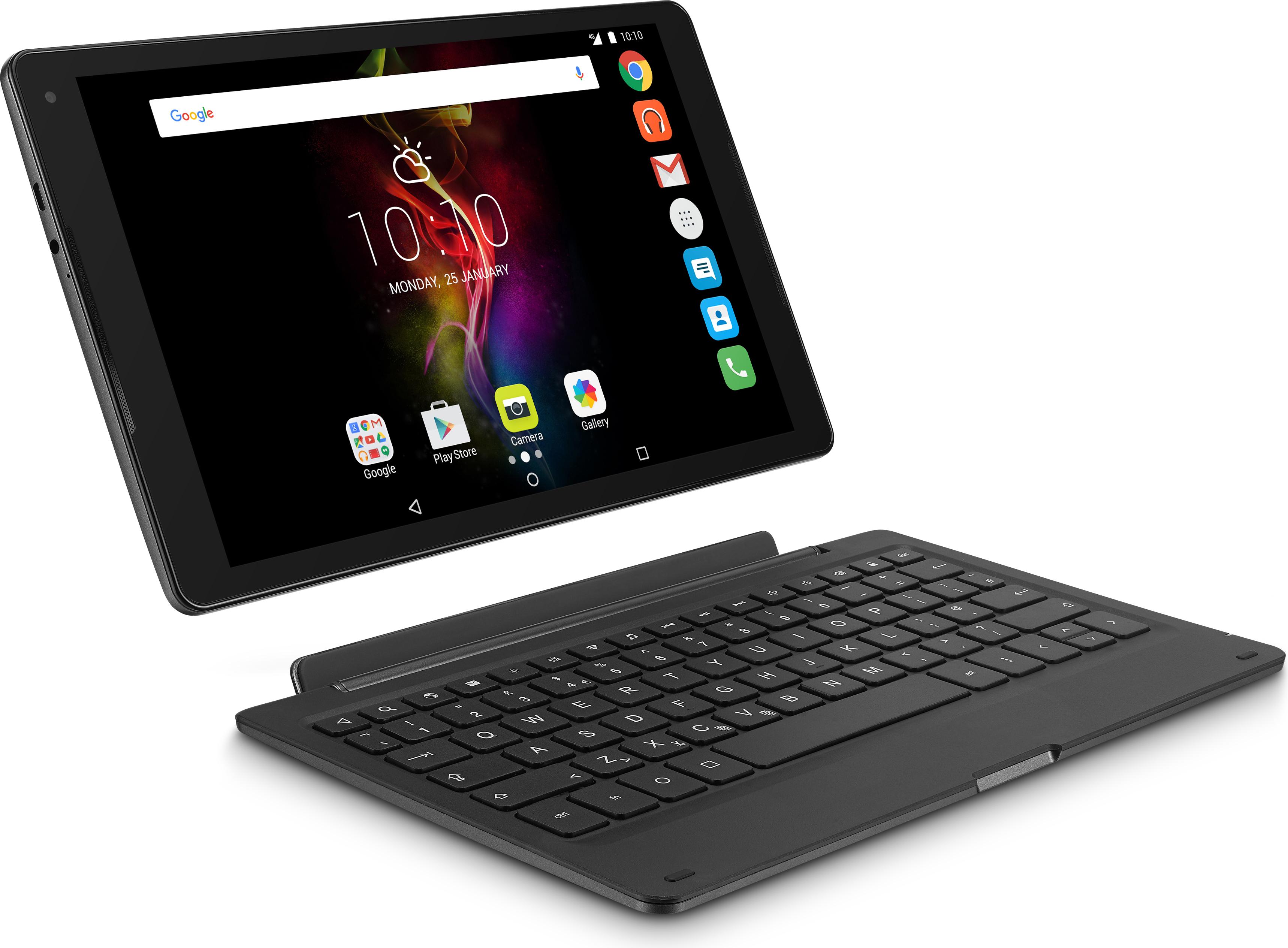 alcatel pop 4 une tablette 4g lte accompagn e d 39 un clavier pour plus de productivit fiche. Black Bedroom Furniture Sets. Home Design Ideas