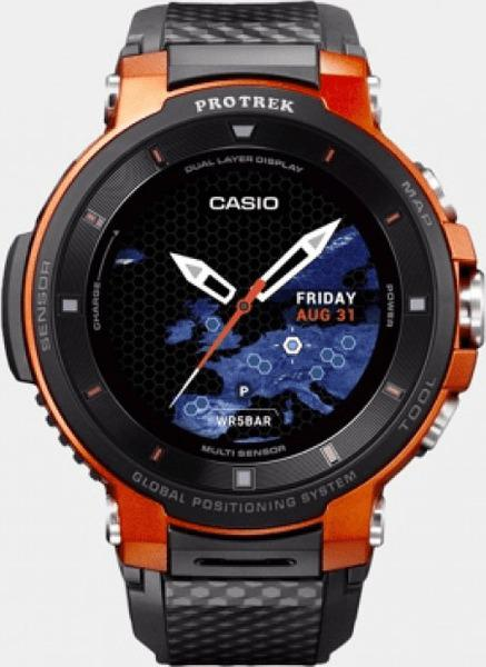 casio protrek wsd f30 la nouvelle montre connect e sous. Black Bedroom Furniture Sets. Home Design Ideas