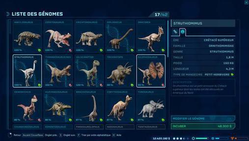 Test jurassic world evolution le parc o les dinos ne sont pas vos pires ennemis - Liste de dinosaures ...