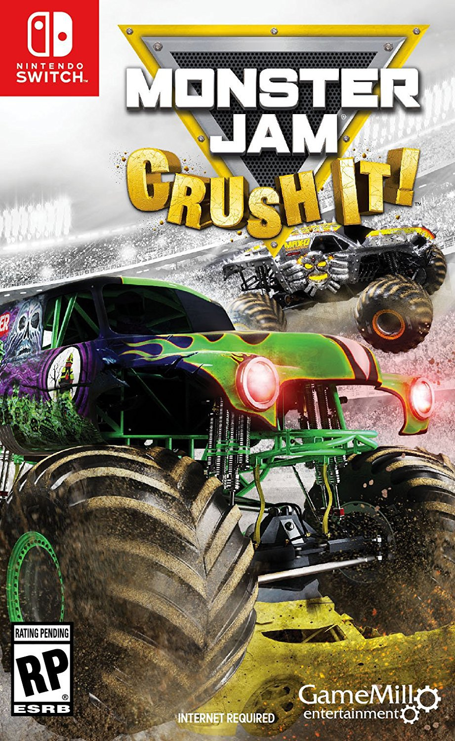 Monster Jam Crush It