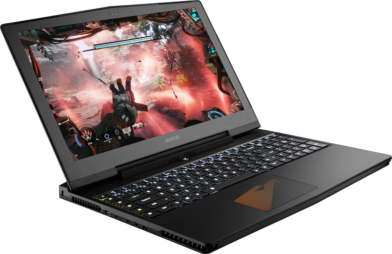 test gigabyte aorus x5 un pc portable taill pour le gaming fiche technique prix et date de. Black Bedroom Furniture Sets. Home Design Ideas
