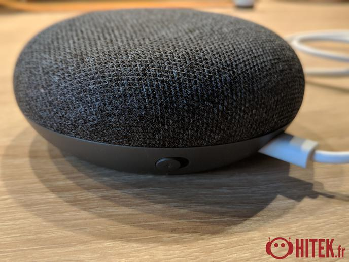 test google home mini une version mini de l 39 enceinte de google fiche technique prix et date. Black Bedroom Furniture Sets. Home Design Ideas