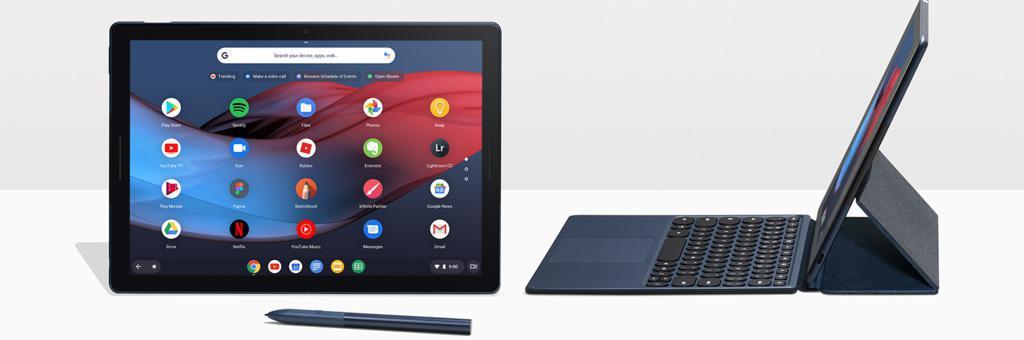 google pixel slate une tablette qui s 39 impose comme v ritable alternative l 39 ipad pro et la. Black Bedroom Furniture Sets. Home Design Ideas