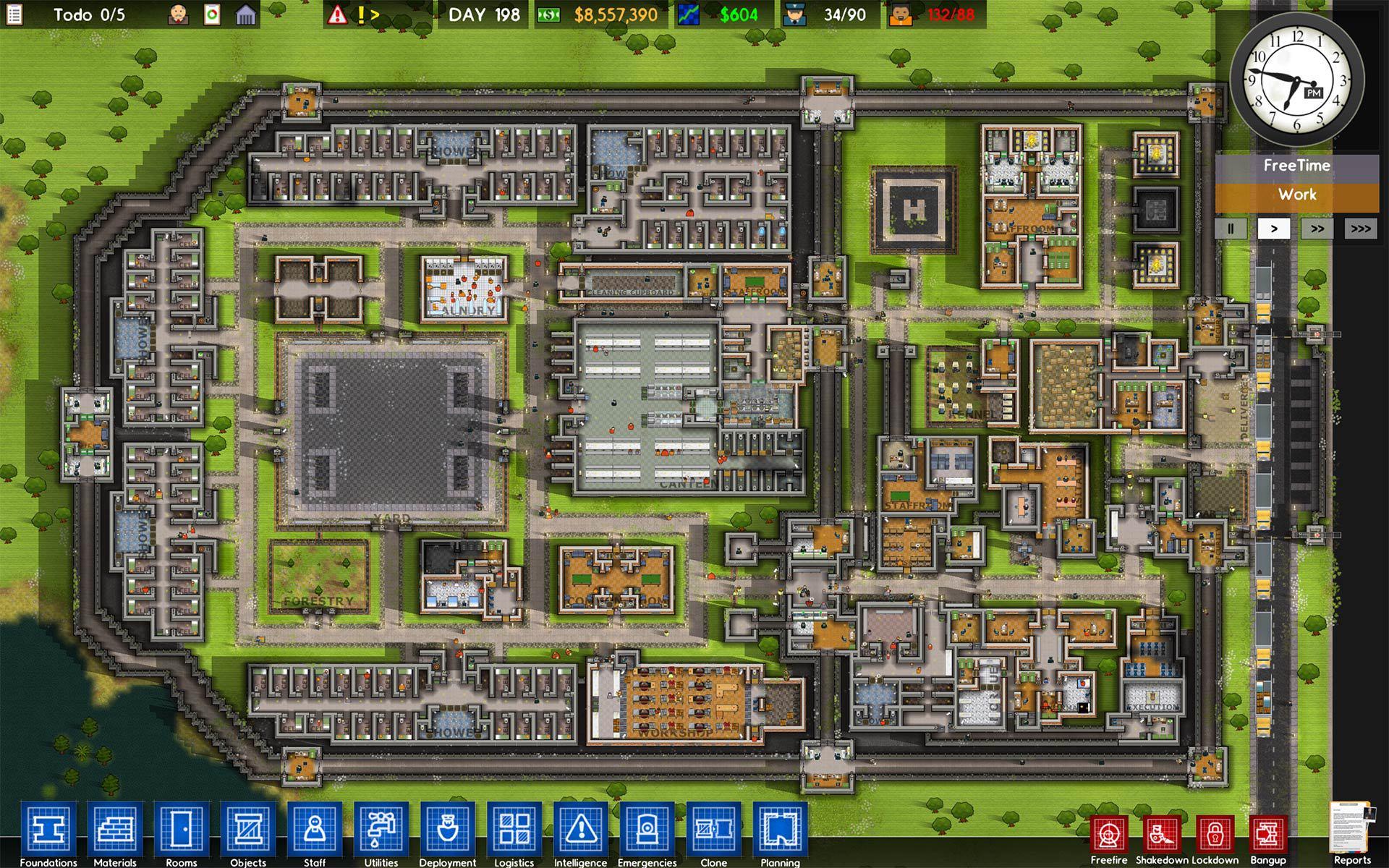 Prison Architect Pr Sentation Du Jeu De Simulation Original Et En 2d