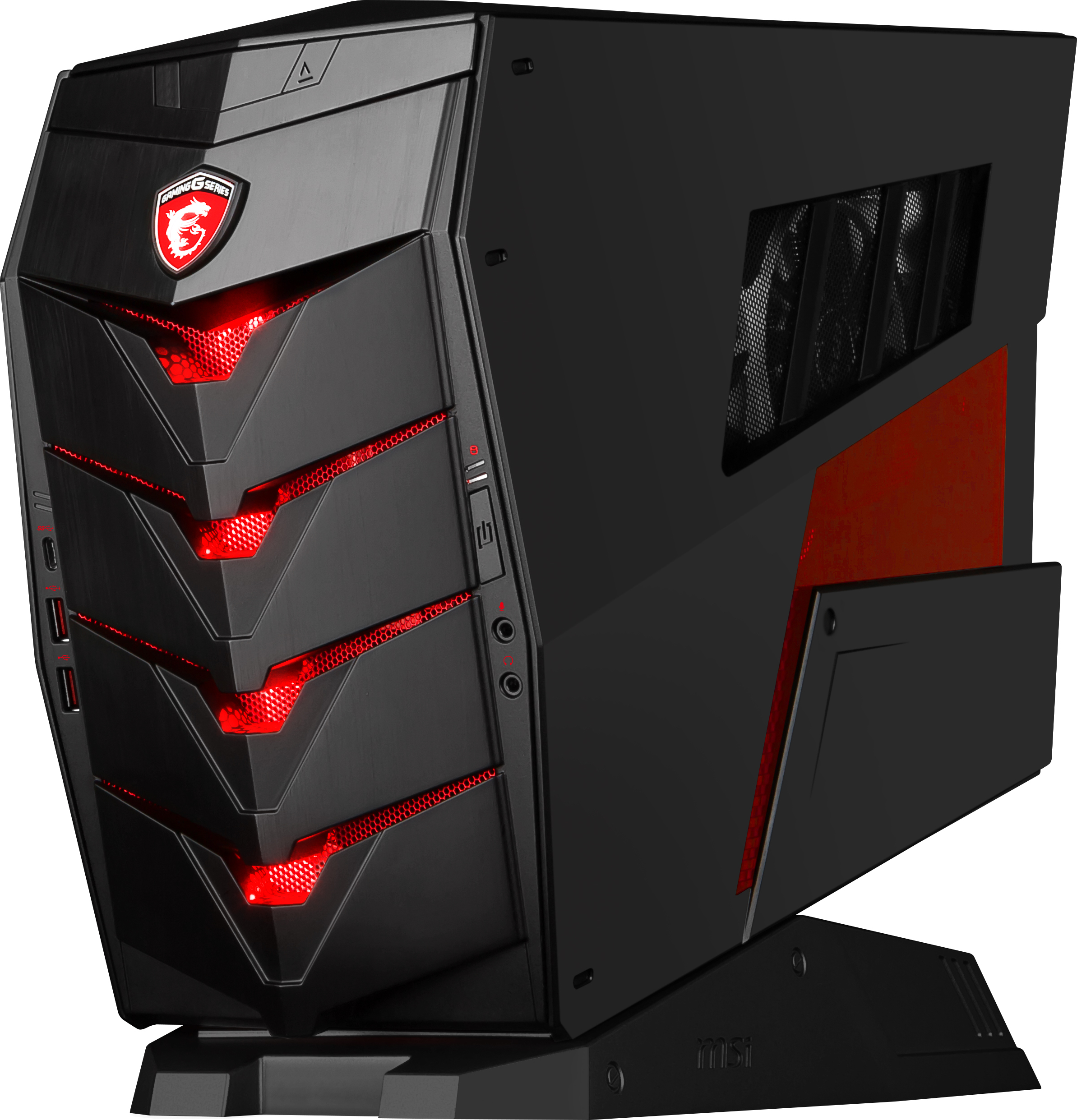 msi aegis l 39 ordinateur de bureau taill pour le gaming. Black Bedroom Furniture Sets. Home Design Ideas