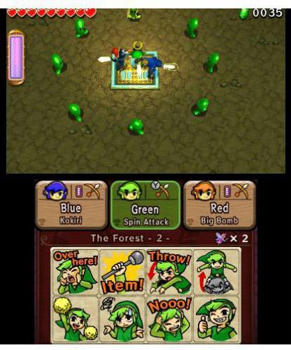 The Legend of Zelda : Tri Force Heroes
